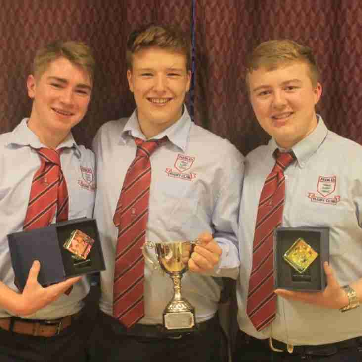 Peebles RFC Colts Annual Dinner