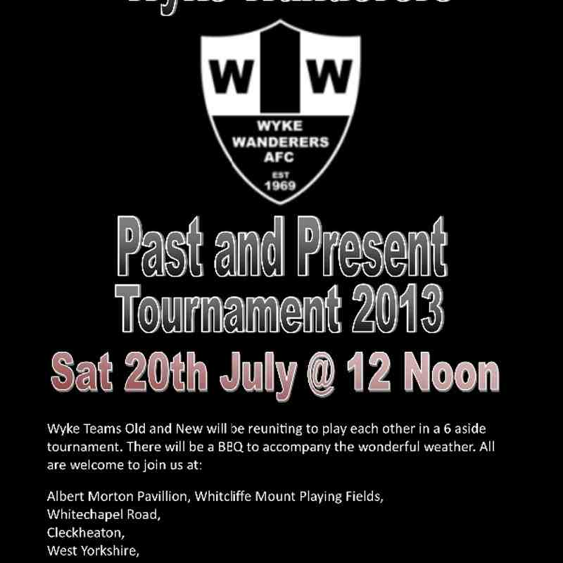 Wyke Wanderers Past and Present Tournament