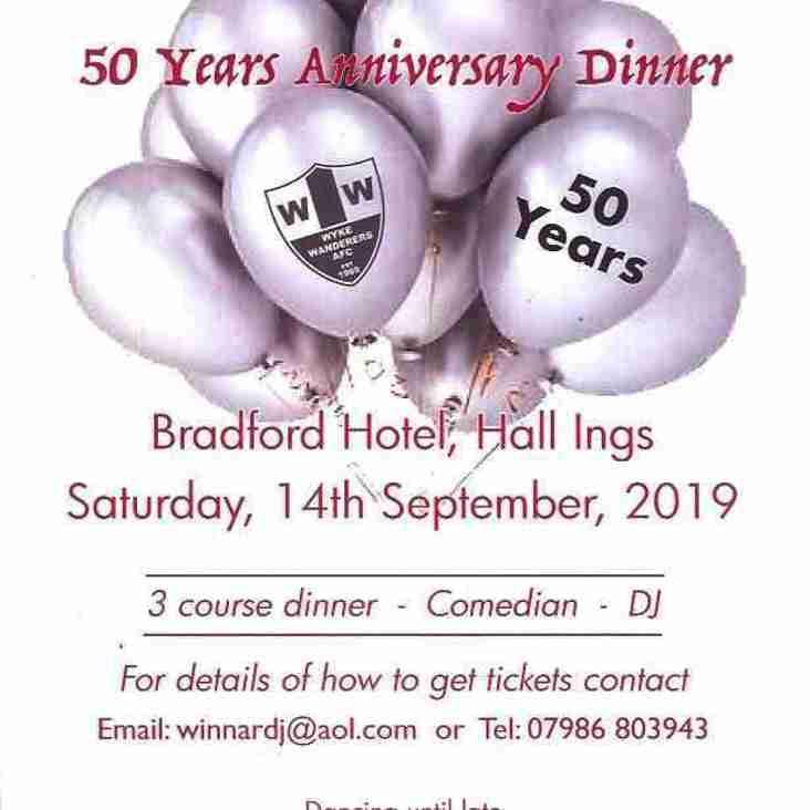 Wyke Wanderers 50th Birthday