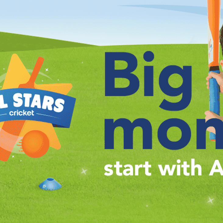 All Stars Cricket – for 5 to 8-year-old boys & girls