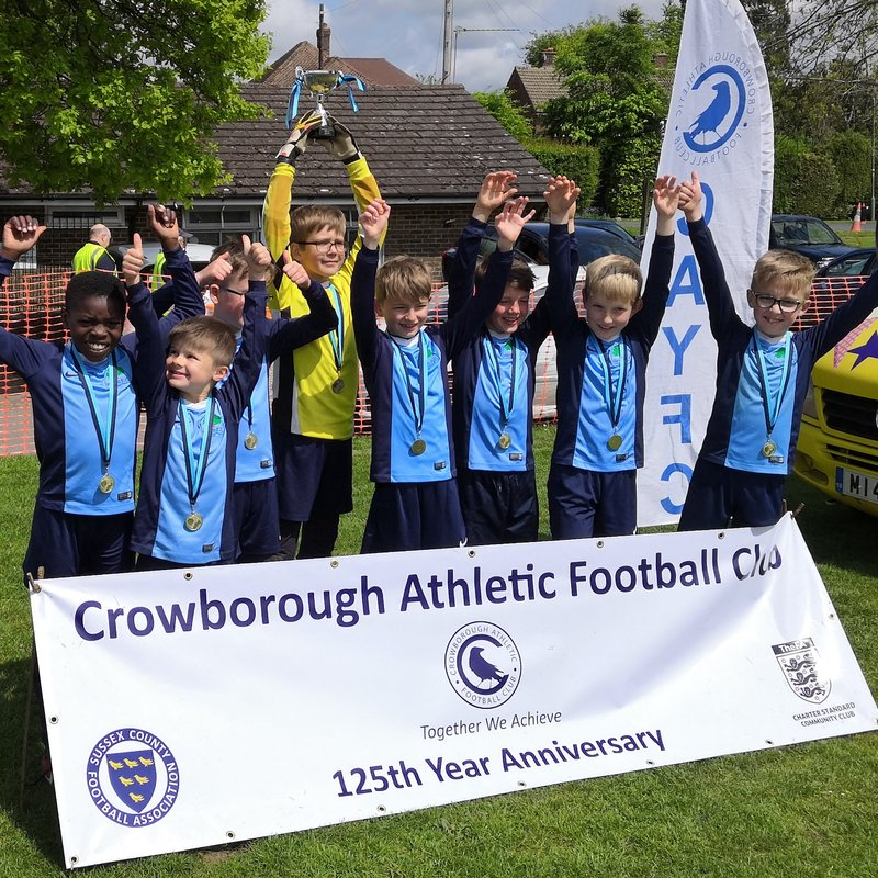 U9 boys are Crowborough Fiesta Champions 2019
