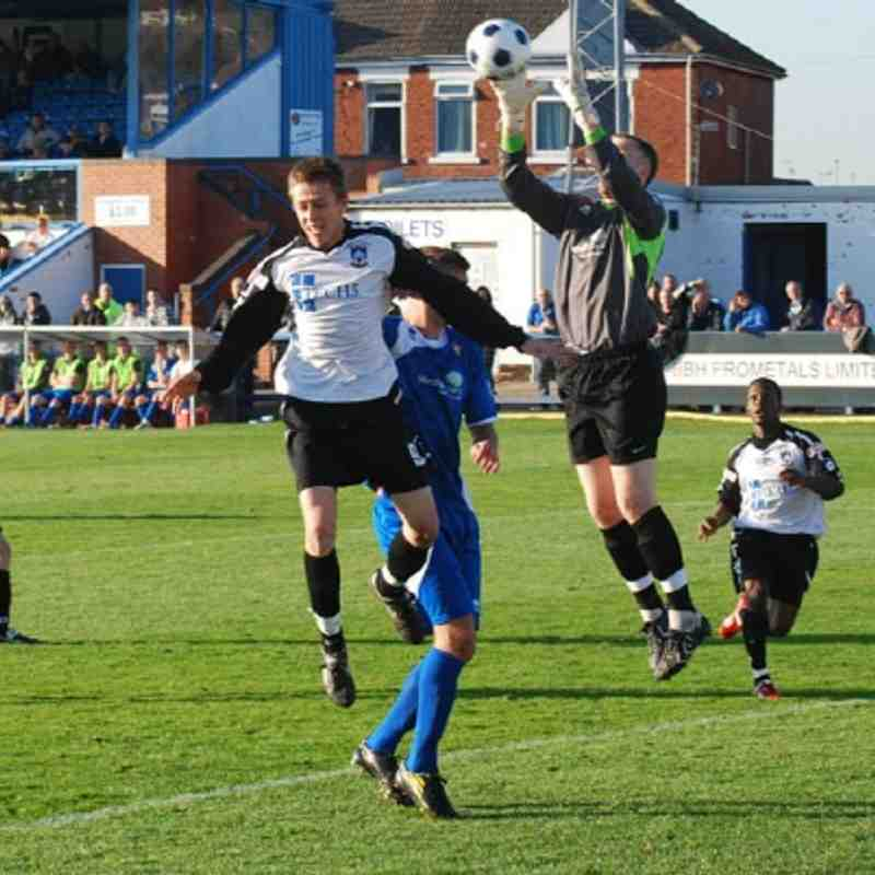 Gainsborough Trinity v Frickley Athletic - 15/10/11
