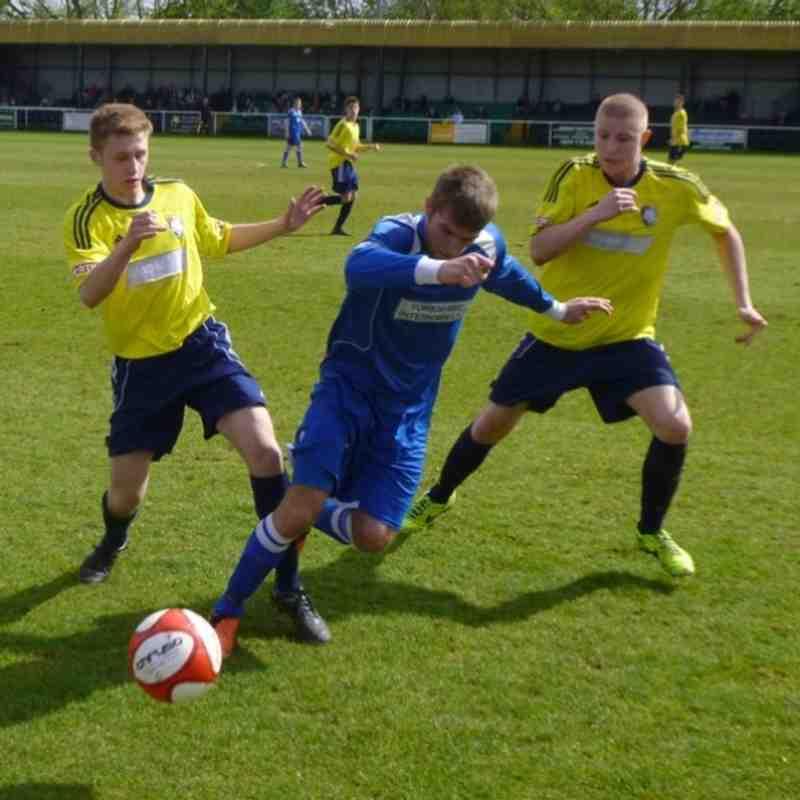 Worksop Town v Frickley Athletic - 26/04/14