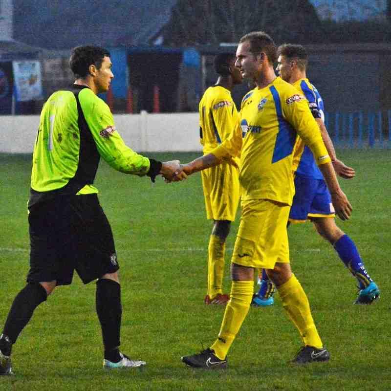 Buxton v Frickley Athletic - 31/10/15