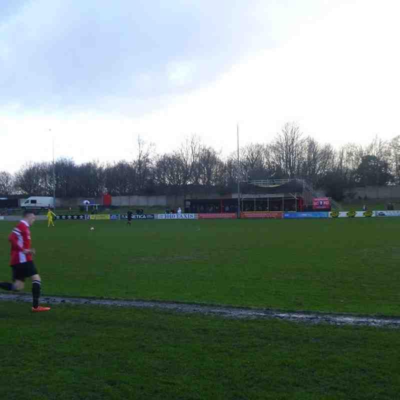 Salford City v Frickley Athletic - 30/01/16