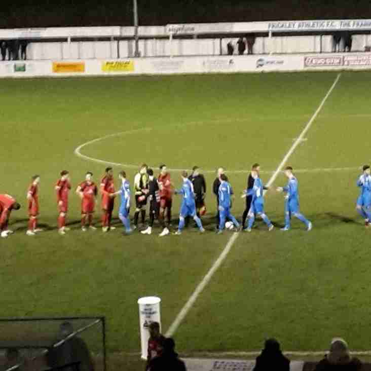 Match Report : Frickley Athletic 5-1 Buxton