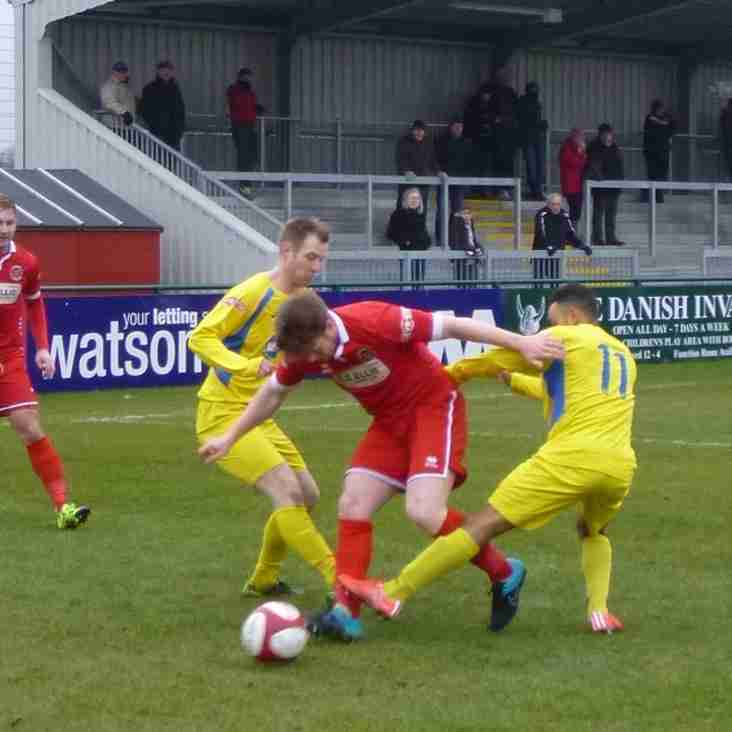 Match Report : Stamford 1-0 Frickley Athletic