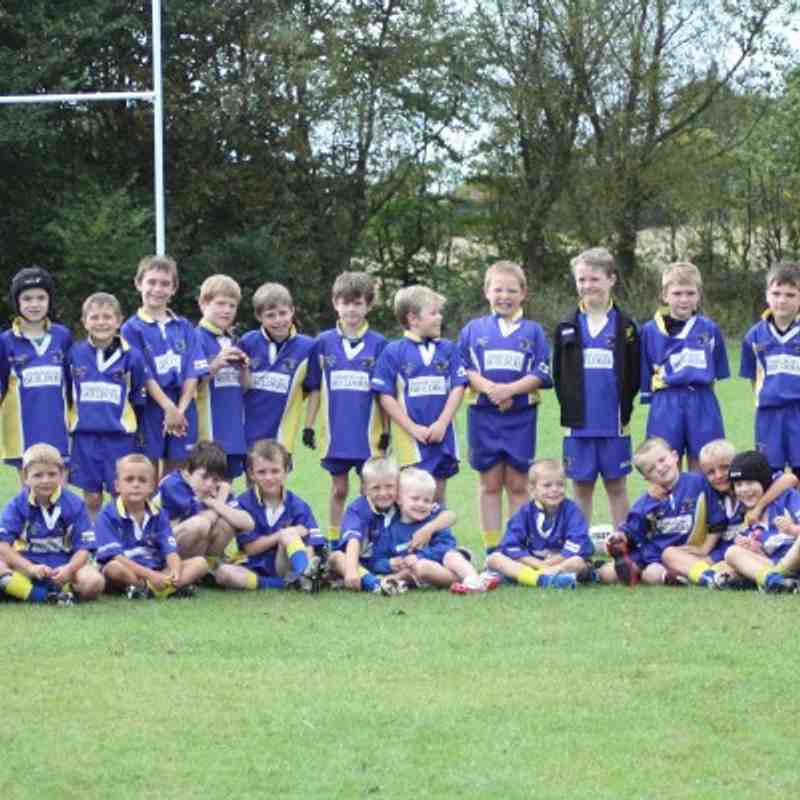 Burton Pidsea 2010 Vs Vikings and Wests U9s