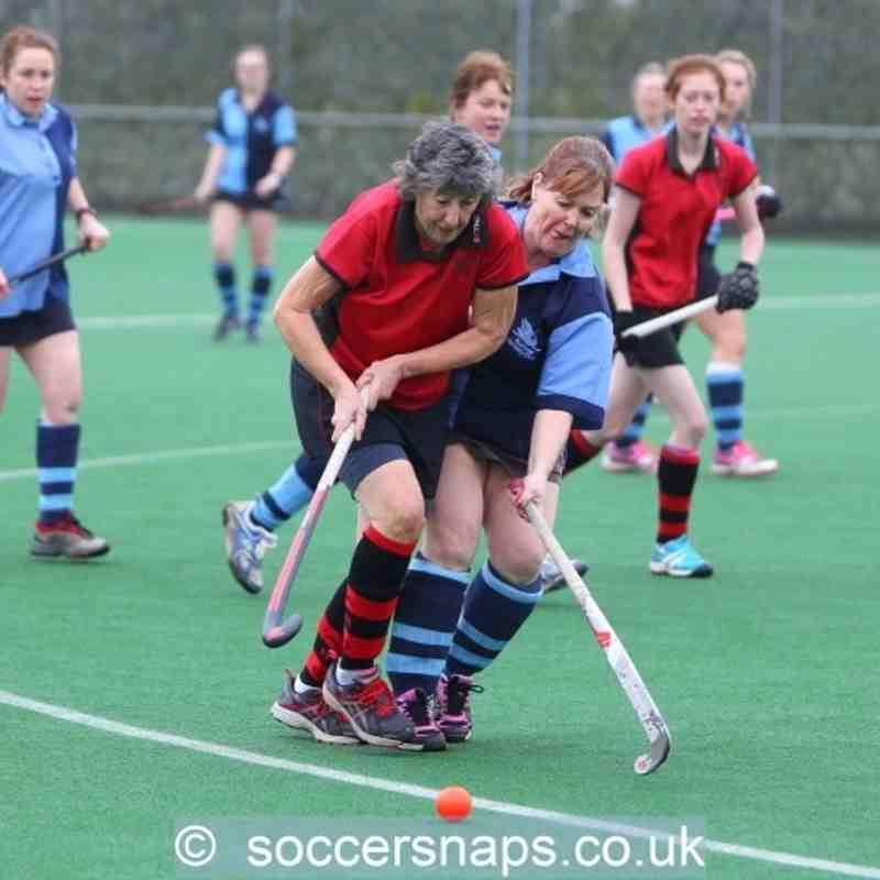 Ashford Ladies 2's v Staines 4's  23-1-2016