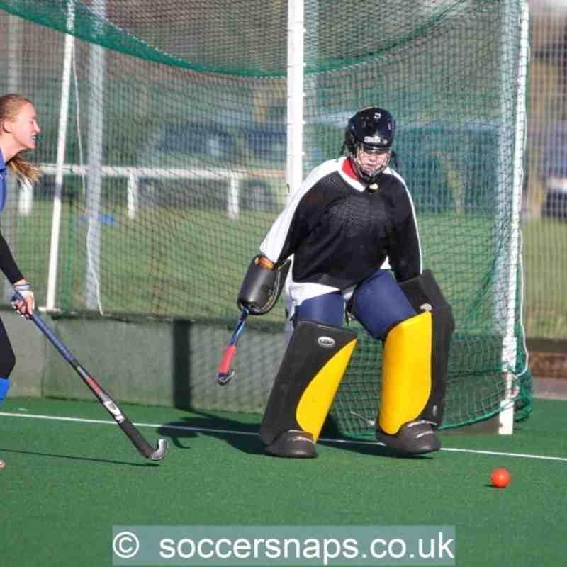 Ashford Ladies 1's v PHC Chiswick 3's  30-1-2016