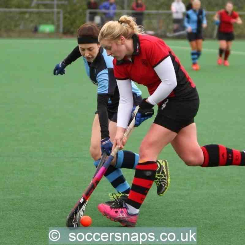 Ashford Ladies 1's v Staines 2's  6-2-2016