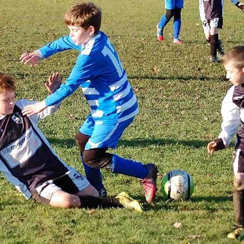 U10 v Lepton Highlanders 1st Dec 13