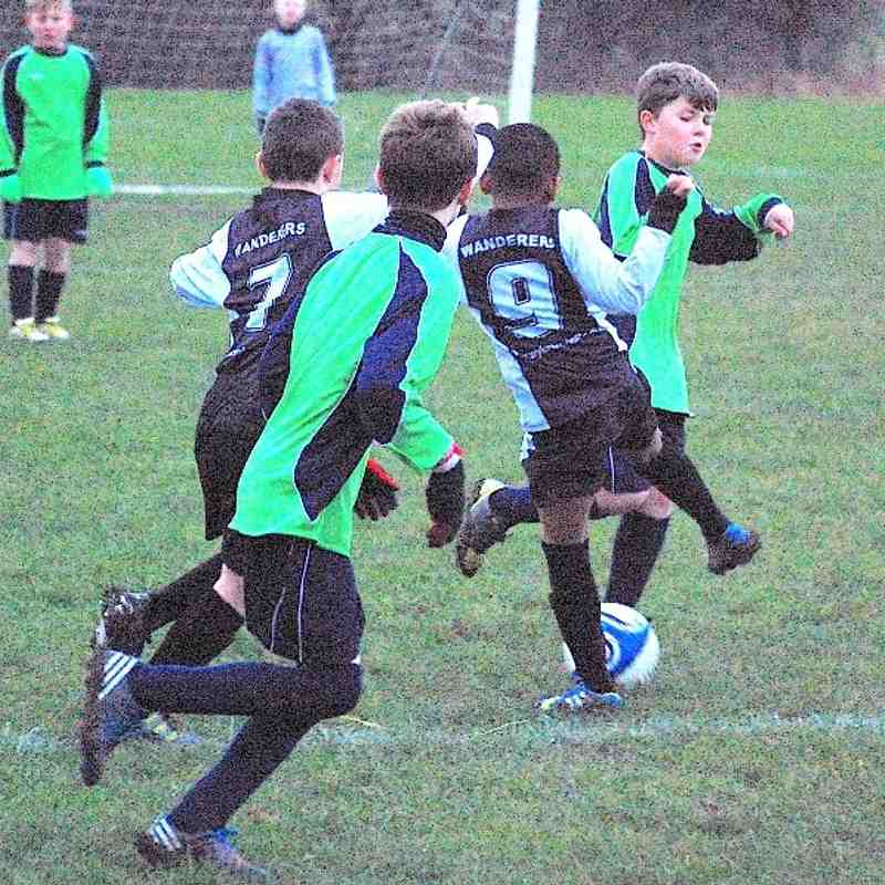 U10 v Thornhill 8th Dec 2013
