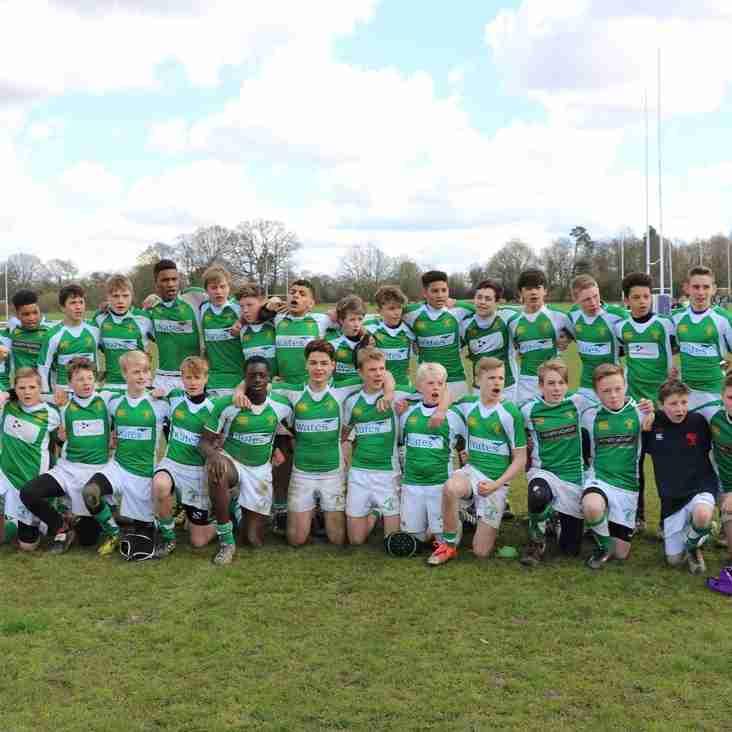 Hearts and Heroes hold Heathfield (Horsham U15s)