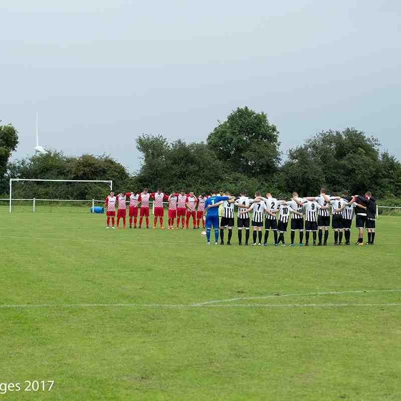 1st Team v Rothwell Corinthians FA cup 2017/18