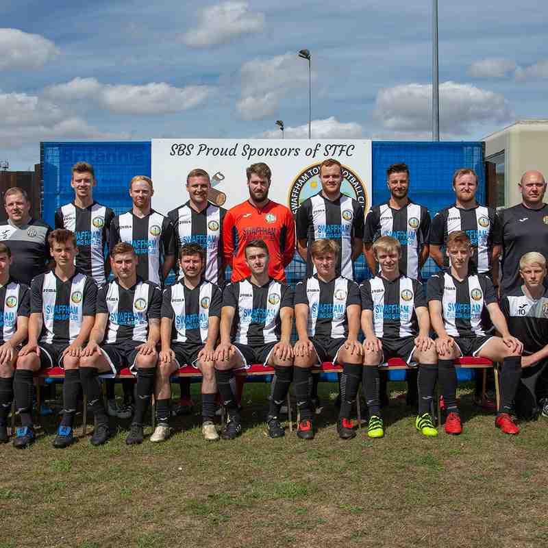 1st Team v Yaxley fc FA CUP 2018/19