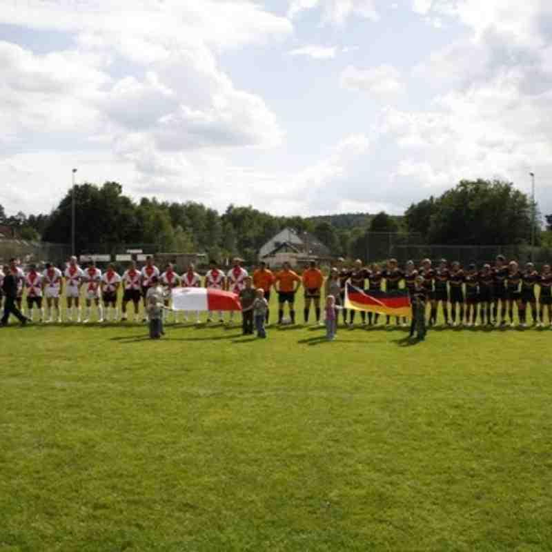 Germany RL v Malta Knights - 2011 European Shield