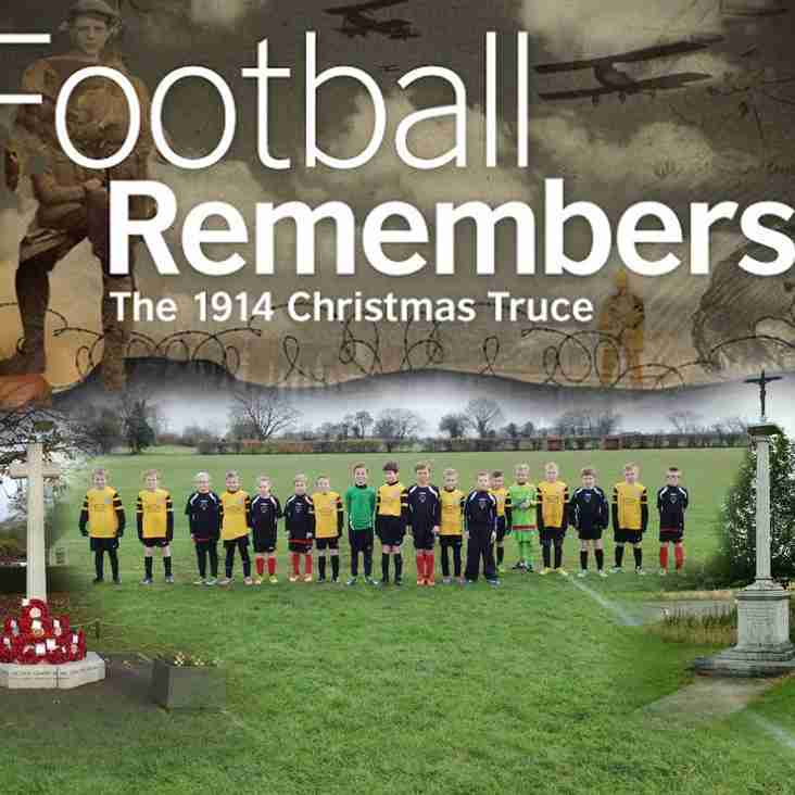Under 10s Football Remembers