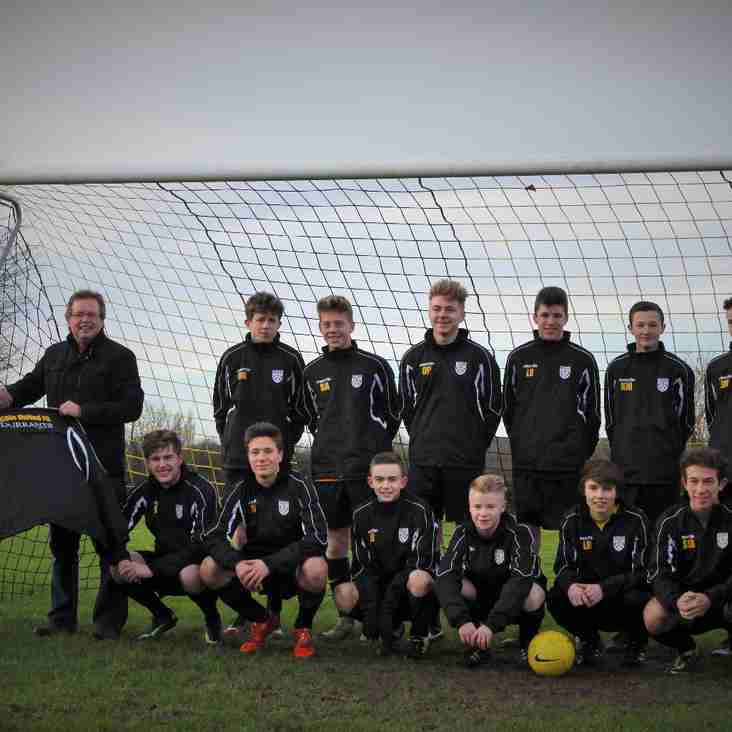 Under 16s new training tops (Sponsored by ssshhh Durrants!!!)