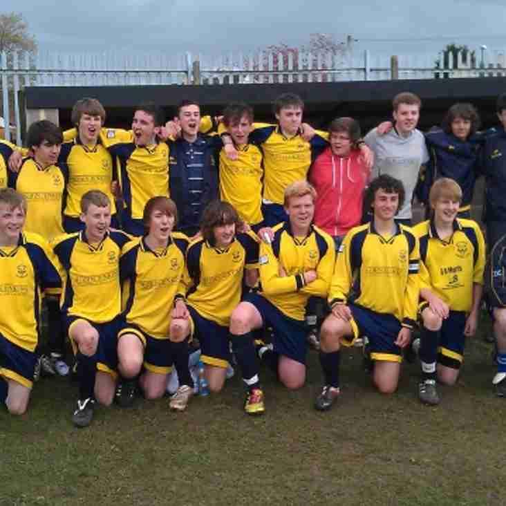Wildcats U16's are Champions!