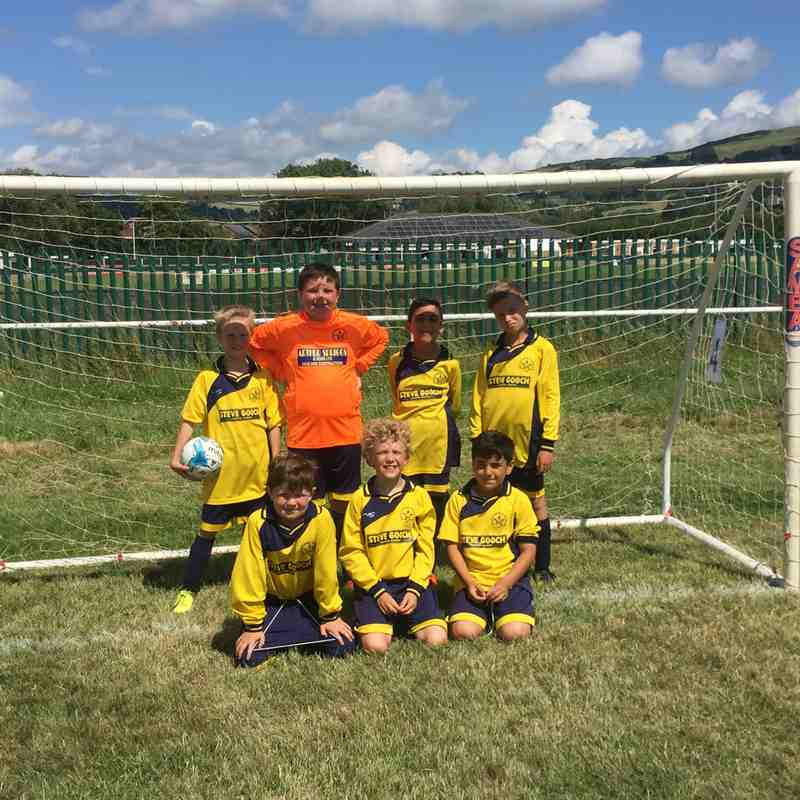 U9 Tigers Bishops Cleeve tournament 24/06/2017