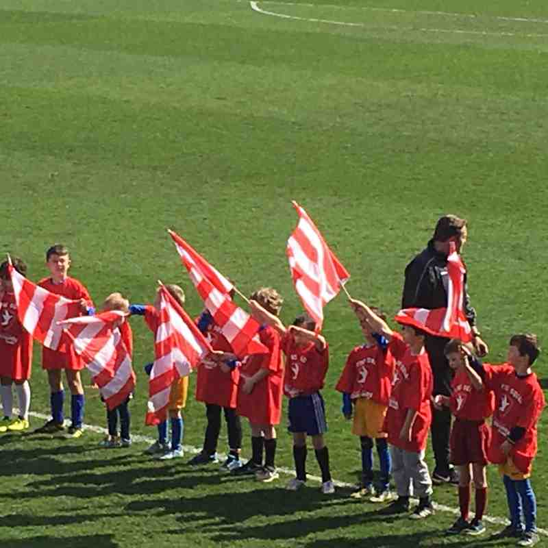 Cubs CTFC Visit - 14th April 2018