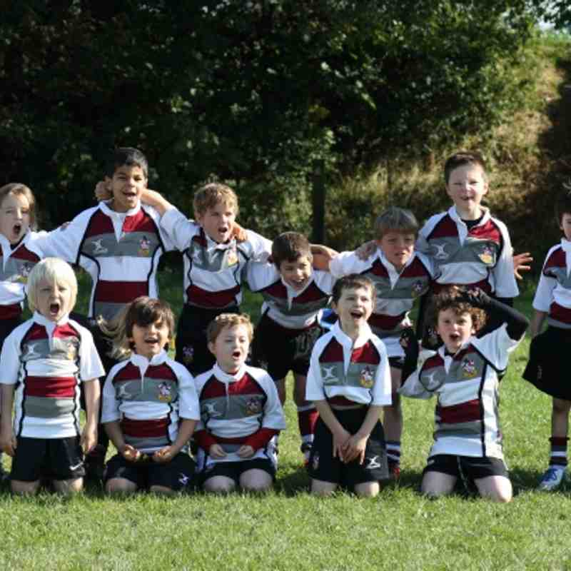 Brentwood U7's at Westcliff 7th October