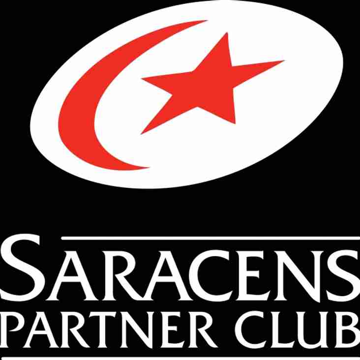 HIstoric Ocassion - Brentwood U10's Play at Saracens