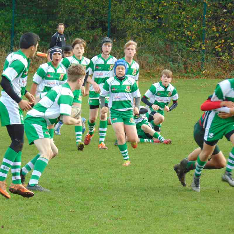 west hartlepool V brufc u14's