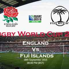 Rugby World Cup Opening Match - England V Fiji - KO 8PM