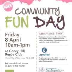 FREE COMMUNITY FUN DAY - FRIDAY 8TH APRIL 10AM TIL 1PM @ CONEY HILL RFC.