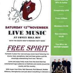 The Sensational Free Spirit Return to Coney Hill RFC