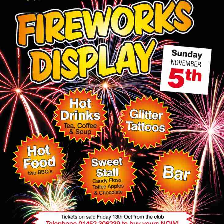 Fireworks Extravaganza by Firemagic - Coney Hill RFC Sunday Nov 5th