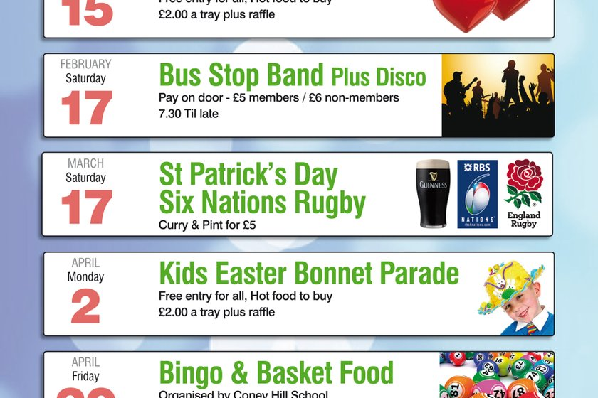 What's On This Easter at Coney Hill RFC