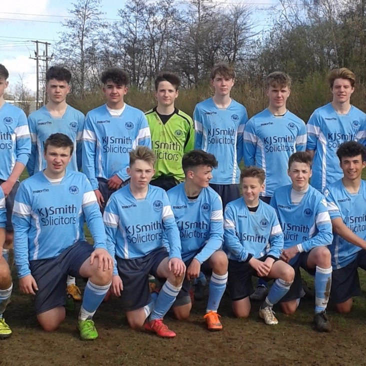Congratulations U16&#039;s On Highest League Finish<