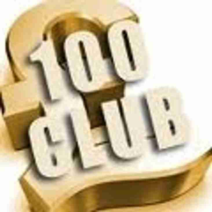 100 Club Draw Winners - October, November & XMAS draws 2016
