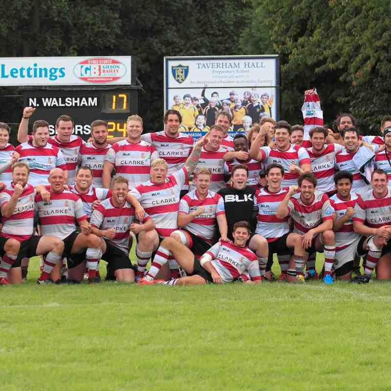 1st & 2nd XV @ N Walsham Sep 15