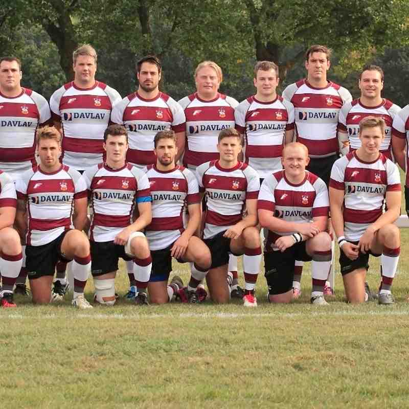 1st XV Team Sep 2016