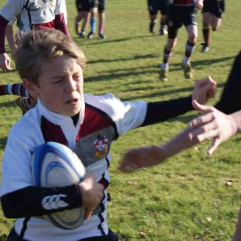 U12 vs Upminster 27 Nov 2011