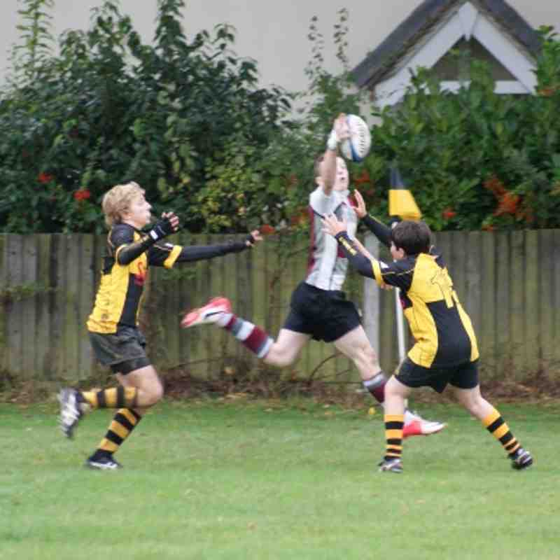 U13 vs Braintree 21 Oct 2012