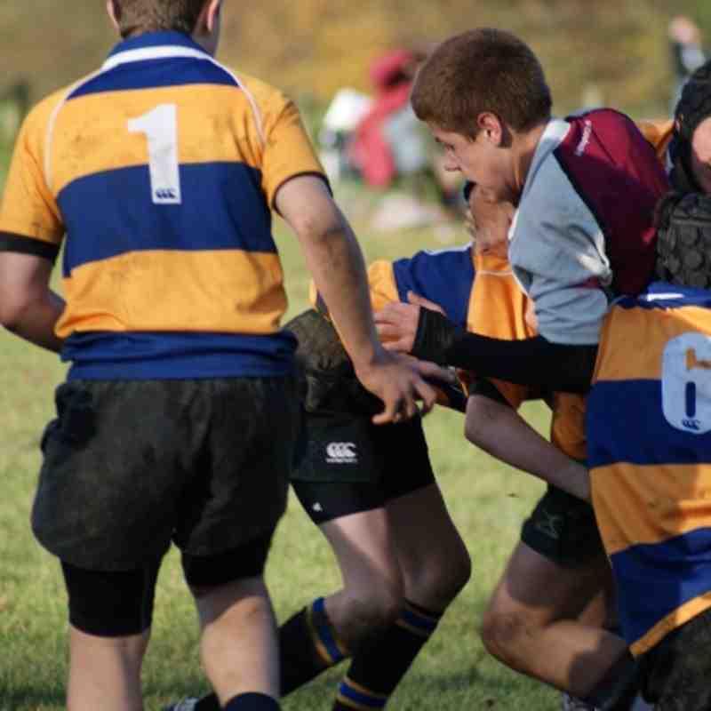 U13s vs Upminster 11 Nov 2012