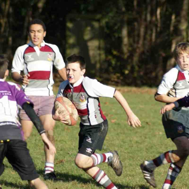 U13s vs Woodford 18 Nov 2012