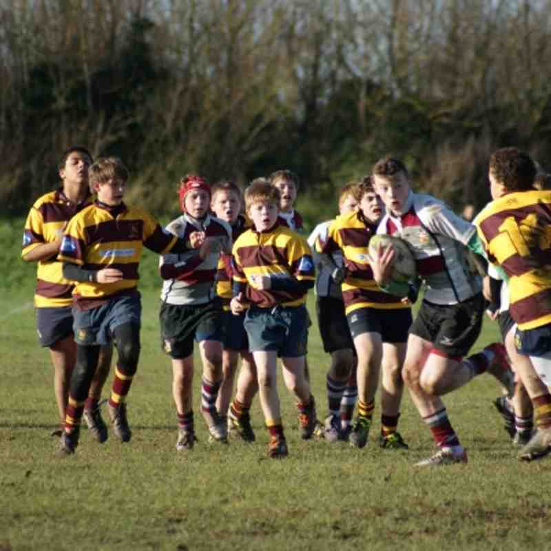 U13 vs Westcliff 16 Dec 2012