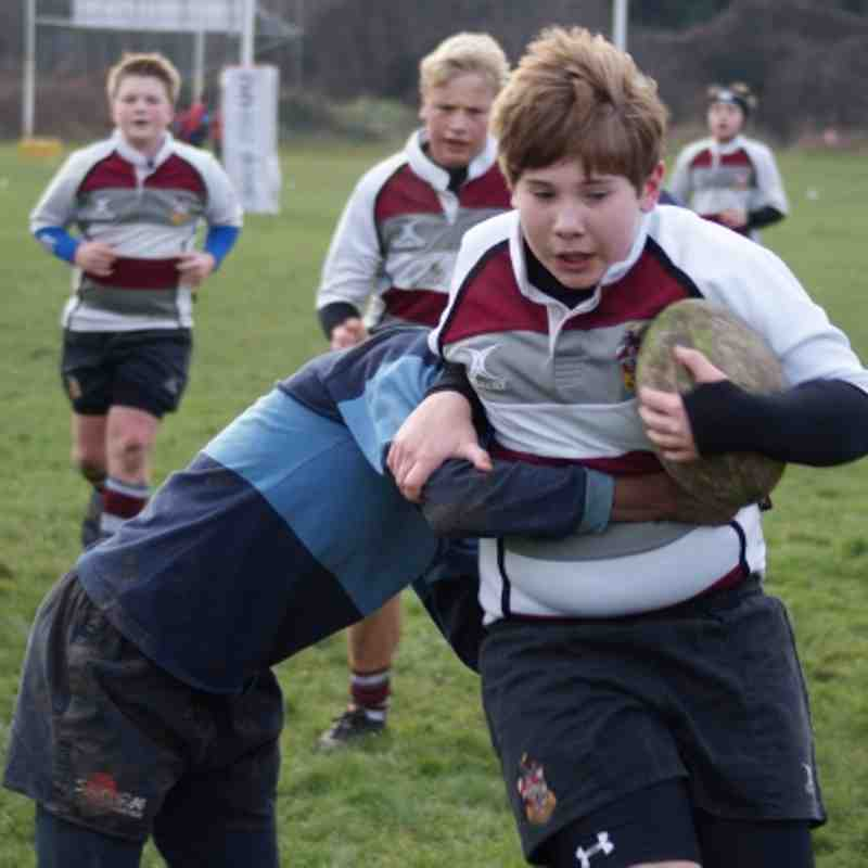 U13s vs Eton Manor 13 Jan 2013
