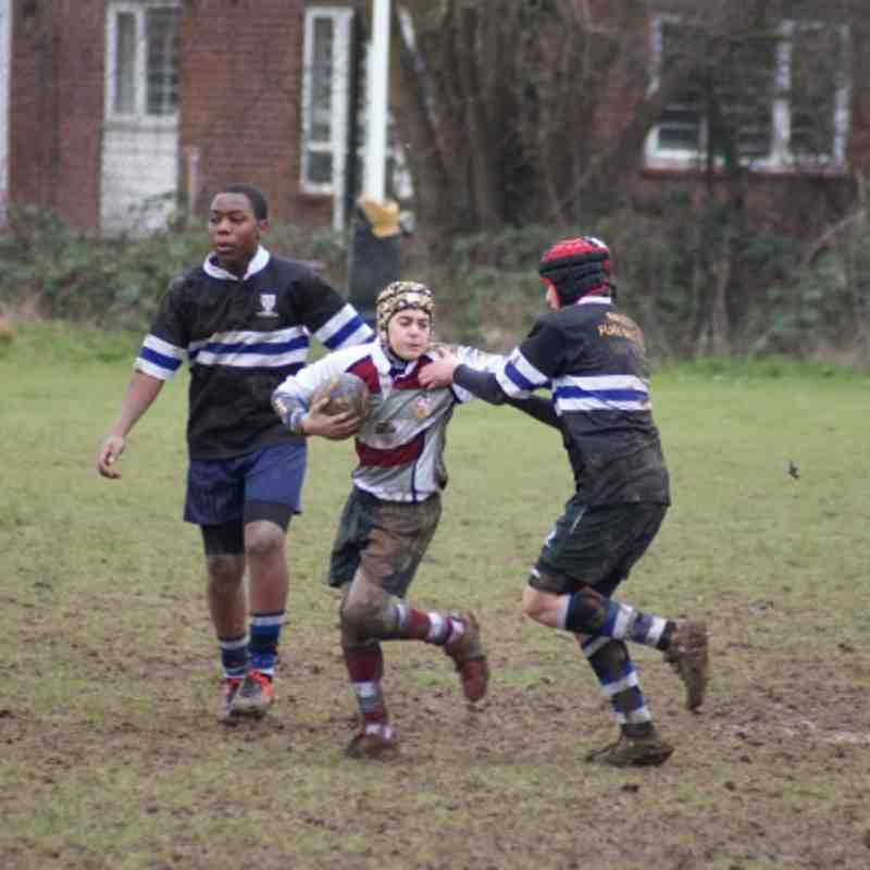 U13s v Chingford 10 March 2013
