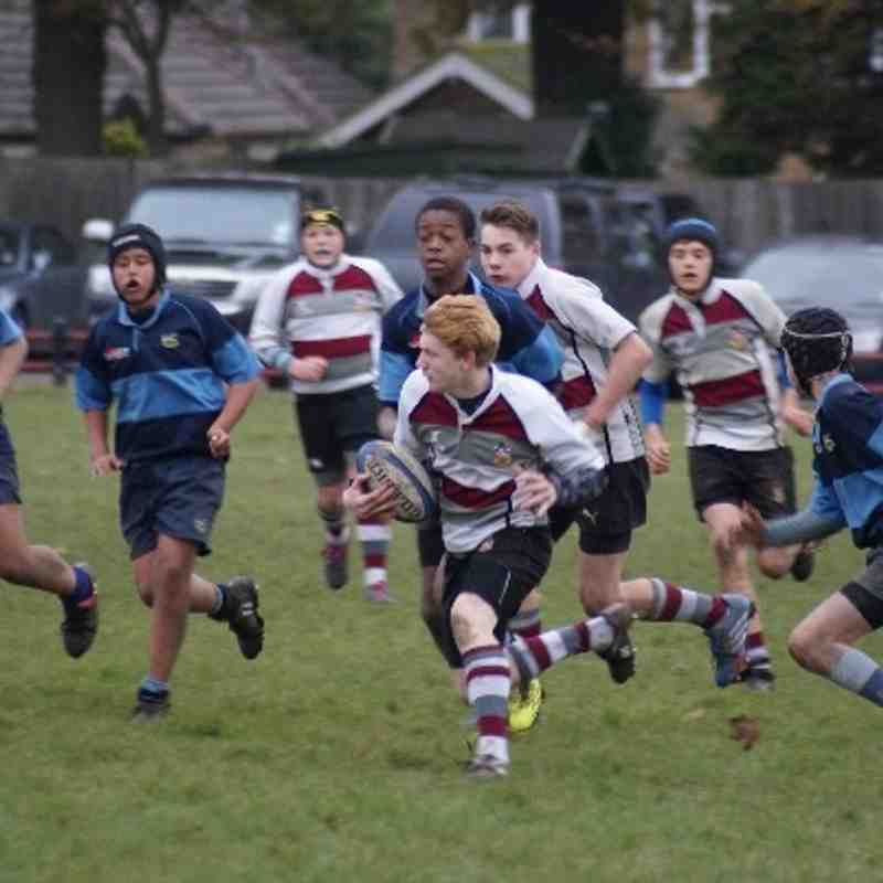 U14 league vs Eton Manor 24 Nov 2013