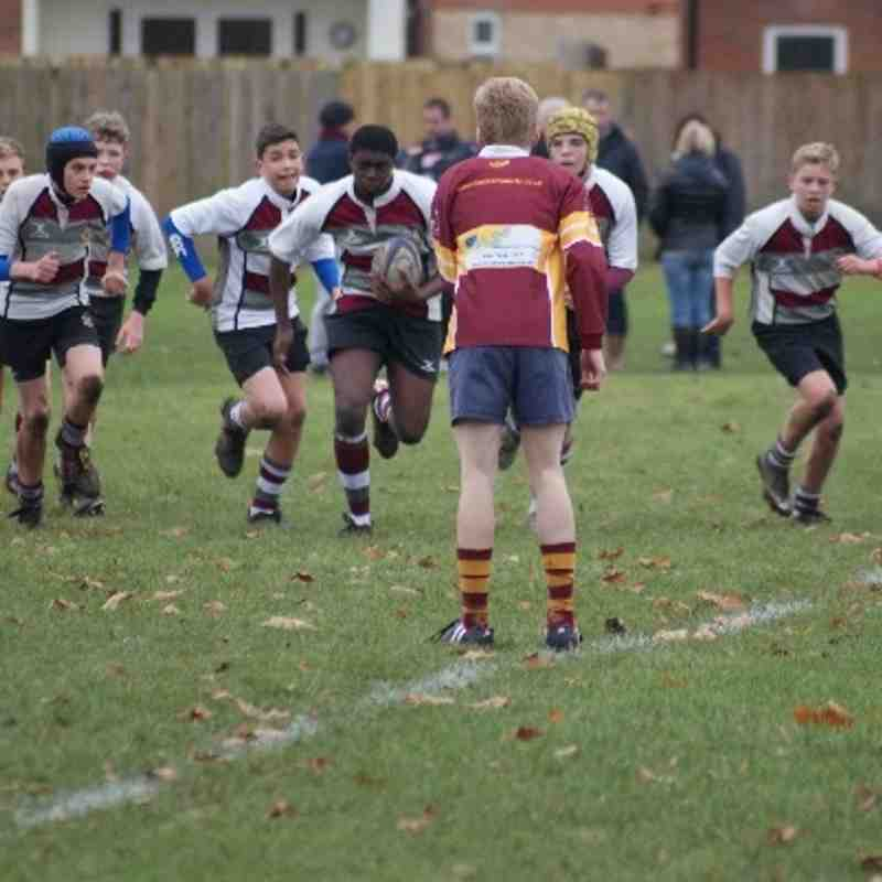 U14 (Dev) vs Dartfordians 1 Dec 2013