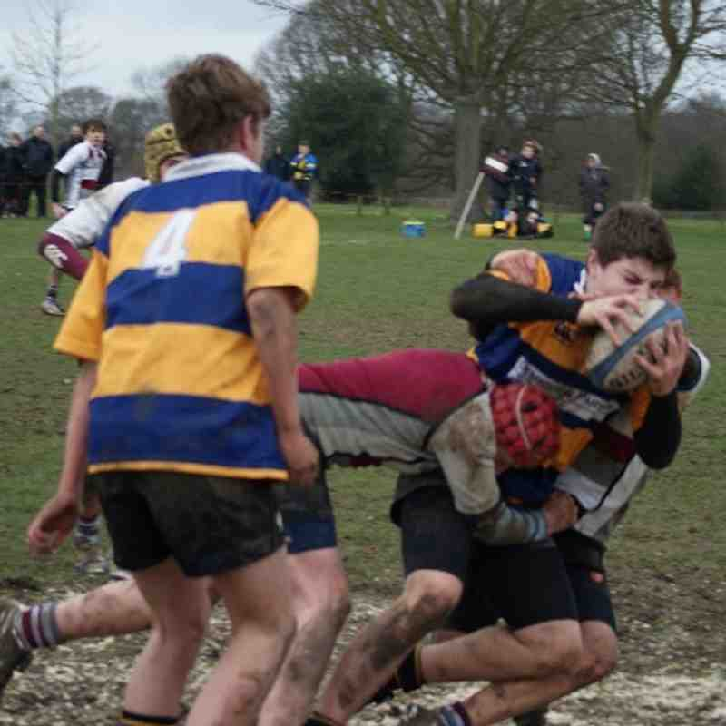 U14 league vs Upminster 23 Feb 2014