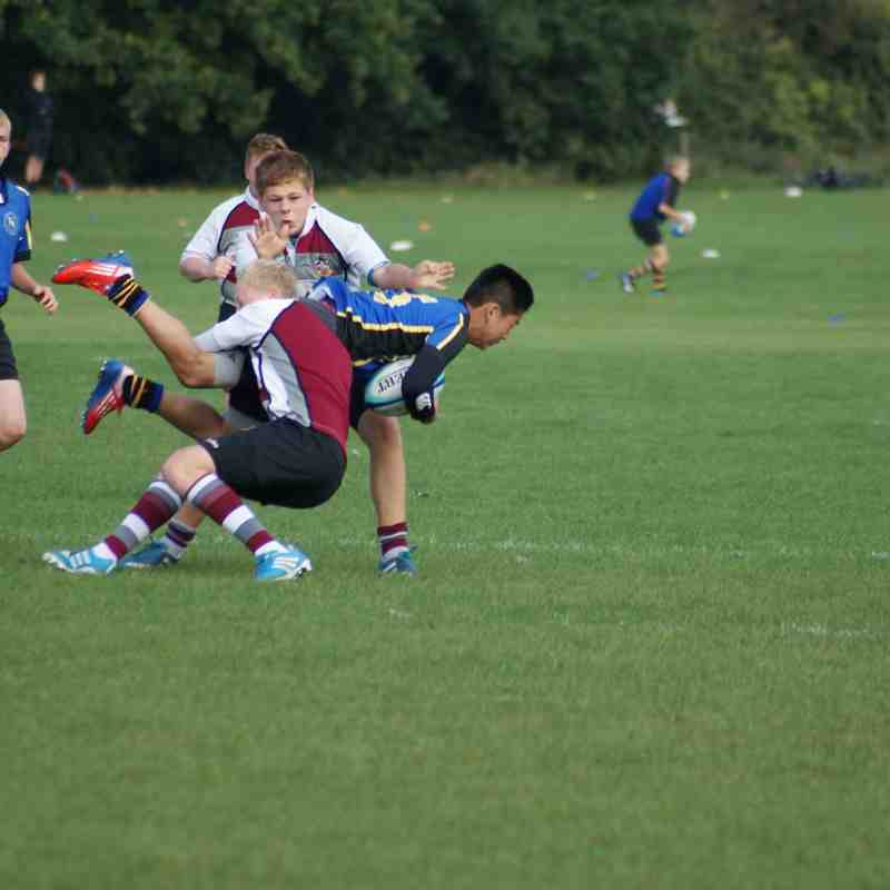 U15 vs Hertford A 21 Sept 2014