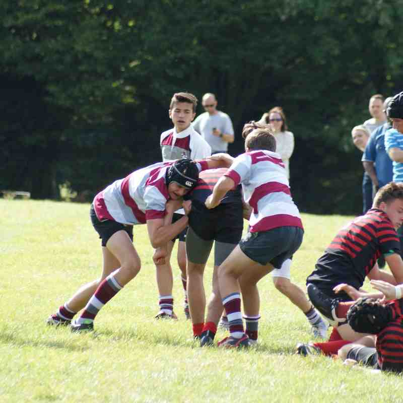 U15 vs Saracens - 28 Sept 2014
